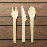 Crate & Barrel Bambu Flatware, Set of 8