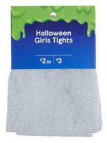 F&F Glitter Halloween Tights, Girl's