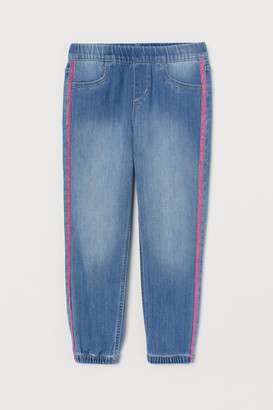 H&M Pull-on Loose Fit Jeans