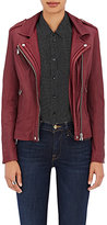 IRO Women's Han Moto Jacket-BURGUNDY