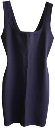 Alaã ̄A AlaAa Purple Viscose Dresses