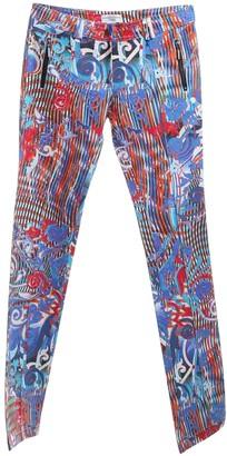 Julien Macdonald Julien Mac Donald Multicolour Cotton Trousers for Women