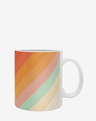 Express Deny Designs Rainbow Chevrons Coffee Mug