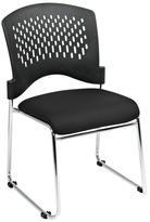 Pro-Line II Black Gliding Visitor Office Chair (Set of 2)