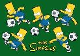 Fun Rugs SIM-017 5178 Simpsons Soccer Fun Childrens Rug, 51-Inch by 78-Inch