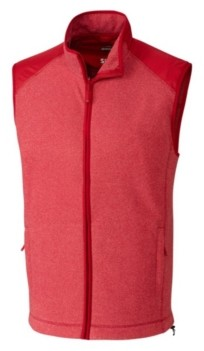 Cutter & Buck Cutter and Buck Men's Big and Tall Cedar Park Full Zip Sweater Vest