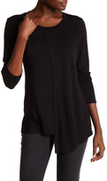 KUT from the Kloth Morgan Draped Long Sleeve Tee