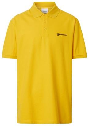 Burberry Location Print Polo Shirt