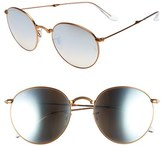 Ray-Ban Women's Icons 53Mm Folding Round Sunglasses - Copper Flash