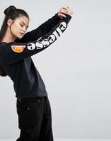Ellesse Long Sleeve Top With Side Logo