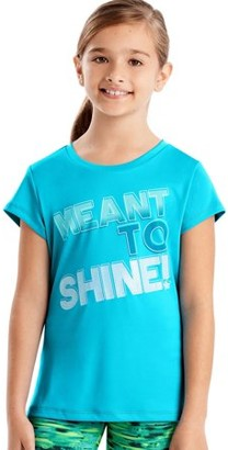 Hanes Sport Graphic Performance Tee (Little Girls and Big Girls)