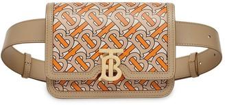 Burberry TB monogram print belt bag