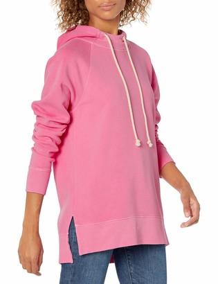 Goodthreads Heritage Fleece Hooded Tunic Dress Shirt