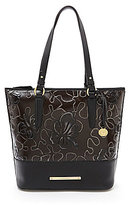 Brahmin Umbria Collection Asher Floral Embossed Tote
