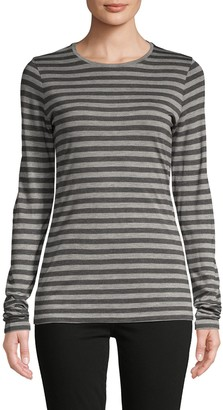 Vince Heather Striped Top