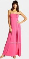 eDressMe Bright Strapless Maxi Dresses