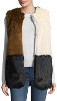 Doc Holiday Plush Faux Fur Vest