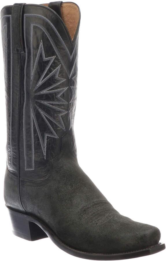 e709b346f56 Men's Hobbs Sunburst Western Cowboy Boots