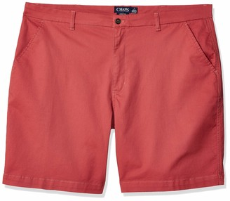 "Chaps Men's Big and Tall 9"" Inseam Stretch Twill Short"