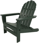 Polywood Classic Oversized Curved Back Adirondack Chair