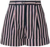 P.A.R.O.S.H. striped shorts