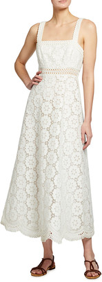 Zimmermann Bells Embroidered Sundress