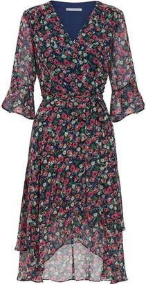 Gina Bacconi Lerina Floral Chiffon Dress