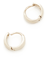 Adina Wide Huggie Hoop Earrings
