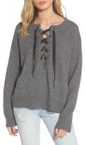 Rails Women's Olivia Lace-Up Sweater