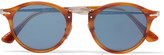 Persol - Round-frame Acetate And Silver-tone Sunglasses