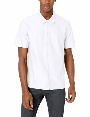 Theory Men's Isak SS Jersey Button Down