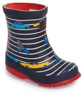 Joules Toddler Boy's Printed Waterproof Rain Boot