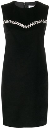 Brognano Embellished Shift Dress