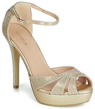 Menbur VOLANIA women's Sandals in Gold