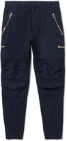 Balmain Cotton-Twill Cargo Trousers