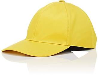 Prada Women's Logo Twill Baseball Cap - Yellow