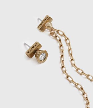 AllSaints Bijou Gold-Tone Ear Cuff Earring Set