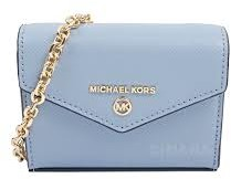 Michael Kors light blue convertible card holder