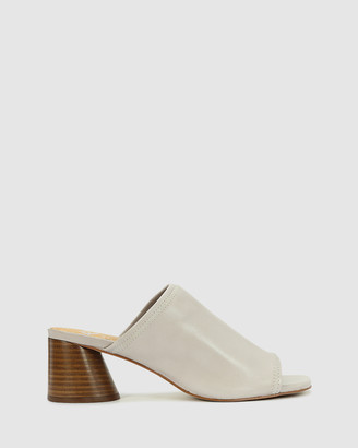 EOS Women's Grey Heeled Sandals - Petti - Size One Size, 39 at The Iconic