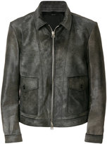 Tom Ford fitted zip up jacket