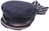 Gucci sash beret - men - Polyamide/Cupro/Wool - M