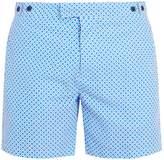 FRESCOBOL CARIOCA Tailored Paraty-print swim shorts