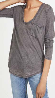 Free People Betty Long Sleeve Tee