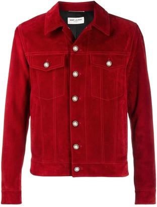 Saint Laurent Buttoned Short Jacket