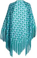 Missoni Crochet-knit shawl