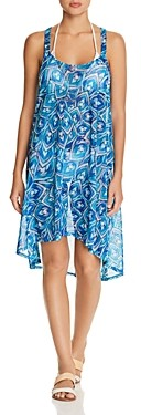 Gottex Tribal Batik Dress Swim Cover-Up