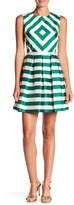 Minuet Striped A Line Dress