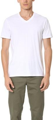 Vince Men's Favorite Pima Cotton Short-Sleeve V-Neck T-Shirt