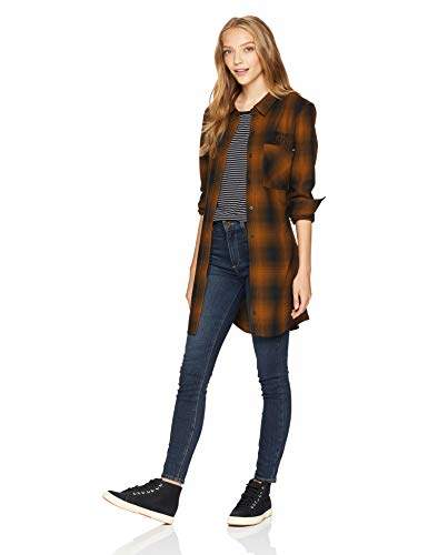 Fox Junior's Standard FIT Moto X Long Sleeve Tunic Flannel