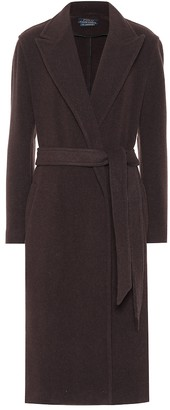 Polo Ralph Lauren Wool-blend wrap coat